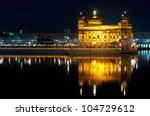 sikh golden temple harmandir... | Shutterstock . vector #104729612