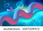 light blue vector background... | Shutterstock .eps vector #1047339472