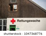 Small photo of Altoetting,Germany-March 16,2018: Exterior of the Red Cross emergency dispatch building.