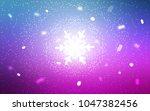 light pink  blue vector texture ... | Shutterstock .eps vector #1047382456
