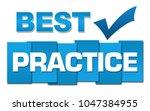 best practice text written over ...   Shutterstock . vector #1047384955