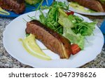 cooking duck breast for special ... | Shutterstock . vector #1047398626