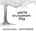 poster world environment day....   Shutterstock .eps vector #1047408508