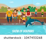 Dolphinarium And Family Visit...