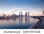 dubai  uae   february 2018 ... | Shutterstock . vector #1047457336