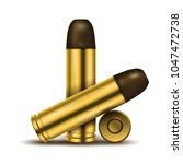 realistic display of bullets....   Shutterstock .eps vector #1047472738