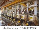 solenoid valve shutdown valve... | Shutterstock . vector #1047474925