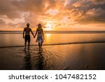 couple in love having romantic... | Shutterstock . vector #1047482152