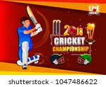 vector illustration of sports... | Shutterstock .eps vector #1047486622