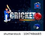 vector illustration of sports... | Shutterstock .eps vector #1047486685