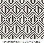 vector seamless pattern. modern ... | Shutterstock .eps vector #1047497362