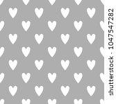 seamless cute vector pattern... | Shutterstock .eps vector #1047547282