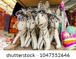 mexican handcrafts  san... | Shutterstock . vector #1047552646