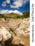desert creeks  mexico. | Shutterstock . vector #1047561196