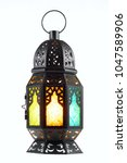ramadan lantern isolated.... | Shutterstock . vector #1047589906