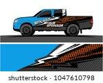 truck graphic vector kit....   Shutterstock .eps vector #1047610798