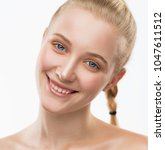 beautiful face woman  has... | Shutterstock . vector #1047611512