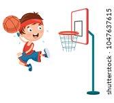 vector illustration of kids... | Shutterstock .eps vector #1047637615