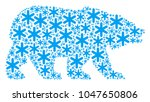 bear collage combined of... | Shutterstock .eps vector #1047650806