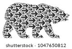 bear pattern combined of right... | Shutterstock .eps vector #1047650812