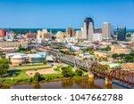 shreveport  louisiana  usa... | Shutterstock . vector #1047662788