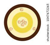 chickpeas hummus icon | Shutterstock .eps vector #1047672265