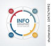 vector infographic template for ...   Shutterstock .eps vector #1047674992
