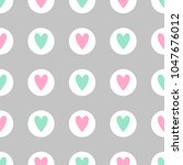 cute seamless vector pattern... | Shutterstock .eps vector #1047676012