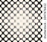 vector halftone circle pattern. ... | Shutterstock .eps vector #1047676612