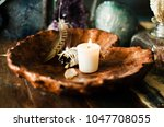 sacred space still life with... | Shutterstock . vector #1047708055