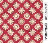 seamless vector decorative...   Shutterstock .eps vector #1047712975