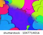 abstract colorful background... | Shutterstock . vector #1047714016