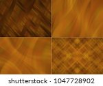 collection of red illustration. ... | Shutterstock . vector #1047728902