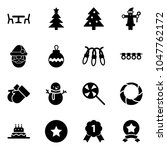 solid vector icon set   cafe... | Shutterstock .eps vector #1047762172