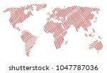 worldwide map composition...   Shutterstock .eps vector #1047787036