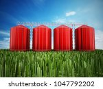 Agriculture Grain Silos On...