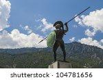Leonidas Statue  Thermopylae ...