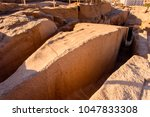ancient ruins around the... | Shutterstock . vector #1047833308