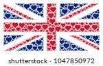 uk flag composition organized...   Shutterstock .eps vector #1047850972