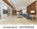 3d rendering luxury and modern...   Shutterstock . vector #1047858268