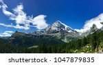 italian alps in a sunny day | Shutterstock . vector #1047879835