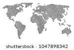 global world atlas concept... | Shutterstock .eps vector #1047898342