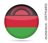national flag of malawi. shiny... | Shutterstock .eps vector #1047916852