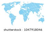 global map concept organized of ...   Shutterstock .eps vector #1047918046