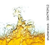 abstraction  oil bubbles in... | Shutterstock . vector #104792912