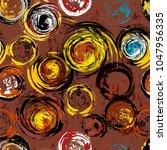 seamless background pattern ... | Shutterstock .eps vector #1047956335