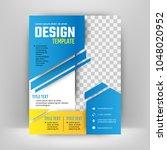vector design for cover report... | Shutterstock .eps vector #1048020952