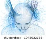 3d rendering   mind field... | Shutterstock . vector #1048032196