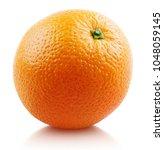 ripe orange citrus fruit... | Shutterstock . vector #1048059145