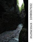 partnach gorge  partnachklamm ... | Shutterstock . vector #1048067032